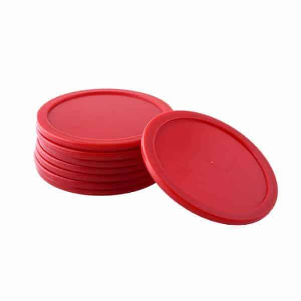 דסקיות שולחן הוקי אוויר אדומה
