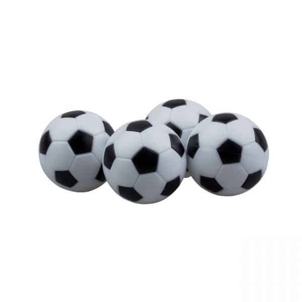 כדור לשולחן כדורגל שחור לבן