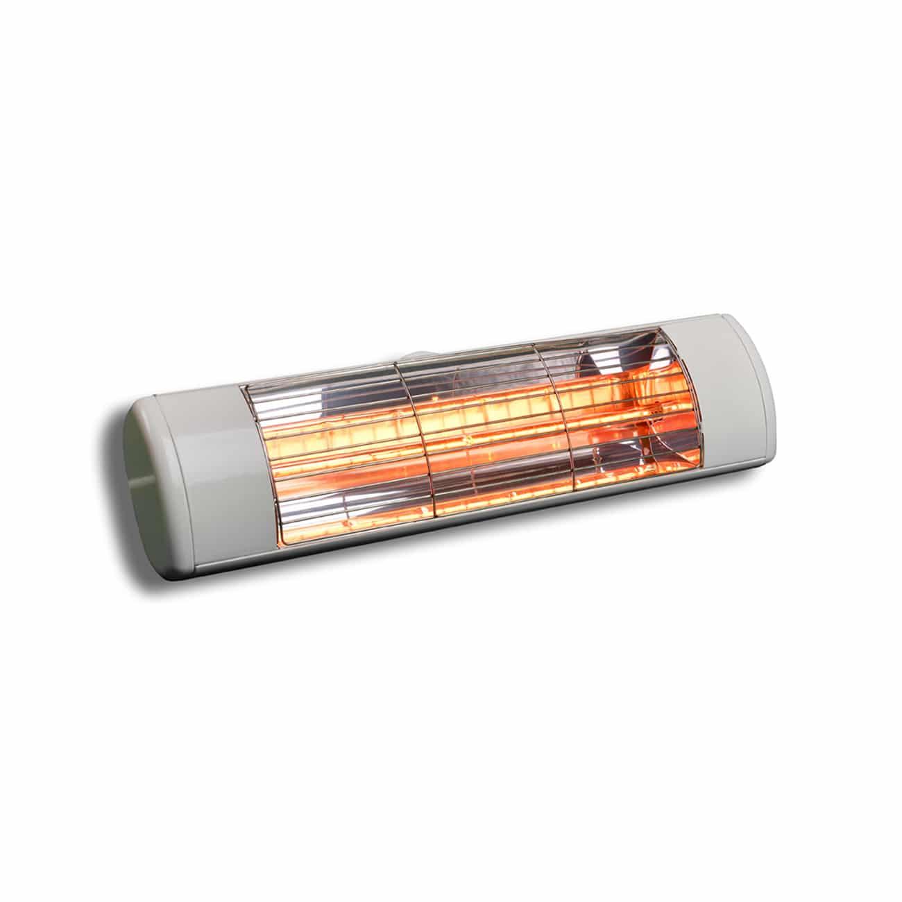 תנור חימום אינפרא חשמלי לבן 1500 וואט