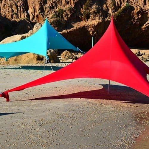 אוהל לייקרה צבעוני
