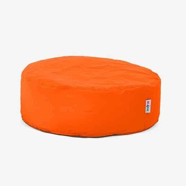 פוף דושיפוף כורסא עגולה כתום | Buyline