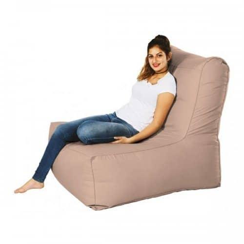 פוף כורסא בצבע חאקי