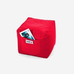 פוף קוביה אדומה | Buyline