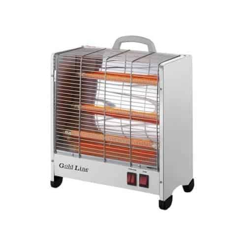 תנור חימום אינפרא חשמלי רצפתי לבן