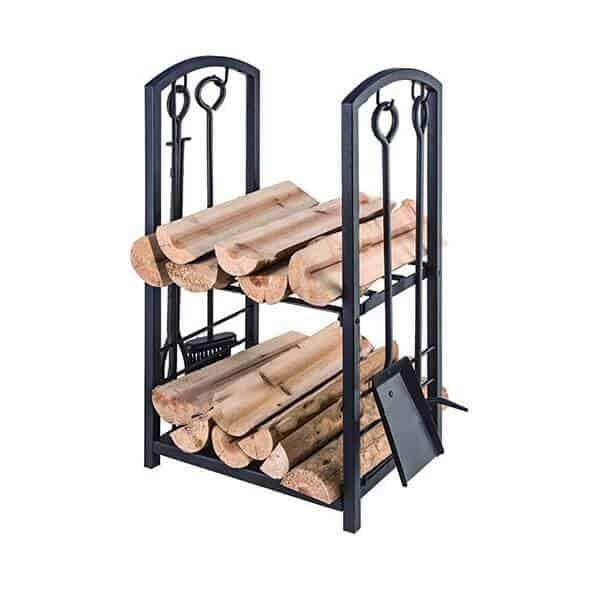 קמין עץ, מתקן אחסון ללוגים | Buyline