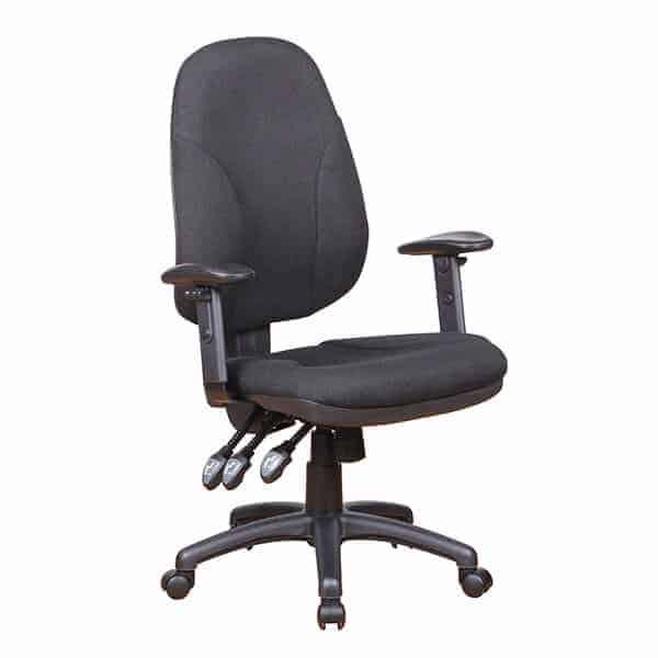 כסא מחשב אורטופדי שחור | Buyline