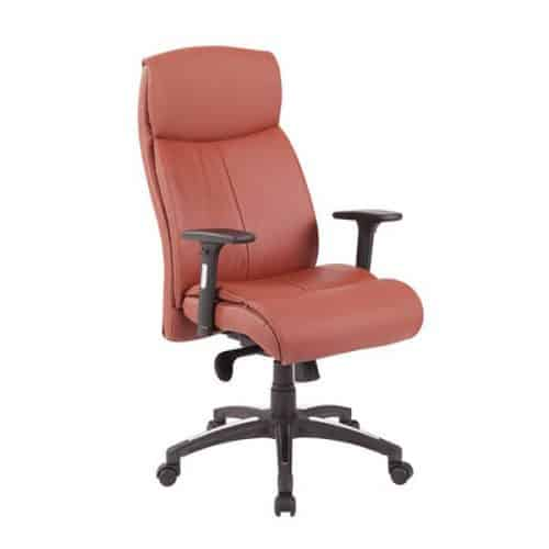 כסא מנהלים אורטופדי חום
